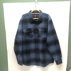 Timberland pro original fit men's flannel xxl